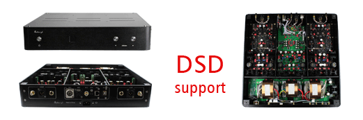 NFB-7 Dedicated Discrete Fully Balanced DAC, DSD support